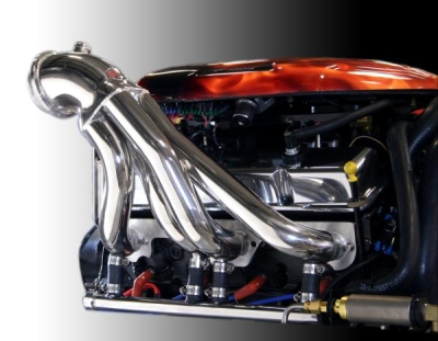 CMI Stainless Steel Small Block Headers