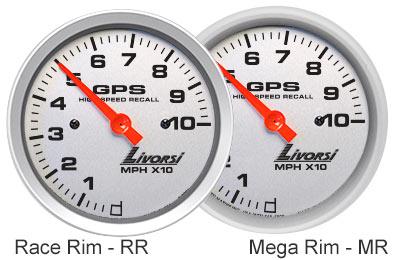 Livorsi Mega & Race Gauge Rim Style Choices