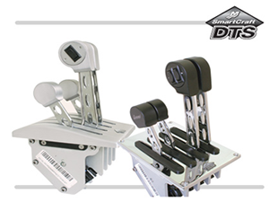 Billet Smartcraft DTS Livorsi Controls, Throttles & Shifters
