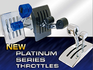 Billet Livorsi Controls, Throttles & Shifters