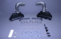 "STAINLESS MARINE BB Exhaust Manifolds with 6"" Taller than STD Stainless Risers Kit - 01-1210000-60"