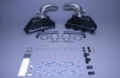 Stainless Marine BB Manifolds 8.1 / 496 Merc With Stainless Risers With Special Brackets - 01-1250010-00