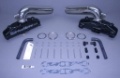 STAINLESS MARINE SBC Manifolds with Long Stainless Risers BTF Kit - 01-2230000-00