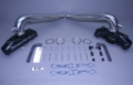 STAINLESS MARINE SBC Manifolds with Thru Transom Stainless Risers BTF Kit - 01-2240000-00