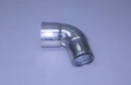 "4"" x 3-1/2"" – 78° Polished Stainless Reducing Elbow Short Radius"