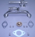 BBC BDS Crossover & Thermostat Housing kit with Bypass Stbd. Entry