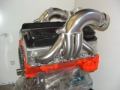 "CMI SMALL BLOCK DIRECT REPLACEMENT HEADERS - SATIN 1 1/2"" PRIMARY - 13156"