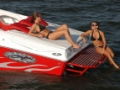 CUSTOM BUILT BAJA ALUMINUM MARINE SWIM STEP