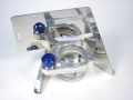 Billet Single Trim Pump Tank with Floor Mount