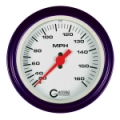 GAFFRIG 3 3/8 MECHANICAL DRY SPEEDOMETER 120 MPH - HEAD ONLY -4510
