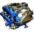 Chevrolet 6.2L V8 Fresh-Water Cooled Supercharged LSA Kodiak Marine Engine - 525HP