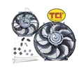 TCI 14-INCH Electric 'Slim-Line' Fan Kit - 1350 CFM - 827350