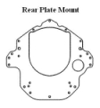 Offshore Engine Plate Mount - Rear