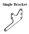 Offshore Engine Plate Bracket - Single