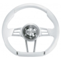 ISOTTA LEATHER STEERING WHEEL - 9670-07