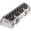 Air Flow Research (AFR) 23° SBC Cylinder Head 235cc Competition Package Heads, standard exhaust, 80cc chambers, Assembled - 1130-TI