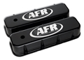 Air Flow Research (AFR) BBC CNC Engraved Valve Covers, Black Powder Coat - 6723
