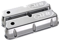 Air Flow Research (AFR) CNC Engraved SBF Tall Valve Covers, Polished Aluminum - 6714