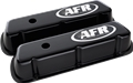 Air Flow Research (AFR) CNC Engraved SBF Standard Valve Covers, Black Powder Coat - 6717
