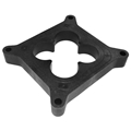 "Air Flow Research (AFR) SBC 1"" Phenolic Carb Spacer Open Clover Leaf, for  Holley #4150 - 4450"