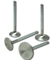 Air Flow Research (AFR) SBF Stainless Steel Valve, 1 pc. chrome stem, swirl polished, 1.600 + .050 - Rev Cl #1632 - 7057