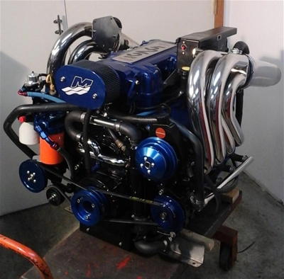 Mercruiser 502 MPI to 540 EFI 675HP Engine Upgrade with Warranty - Core  Required