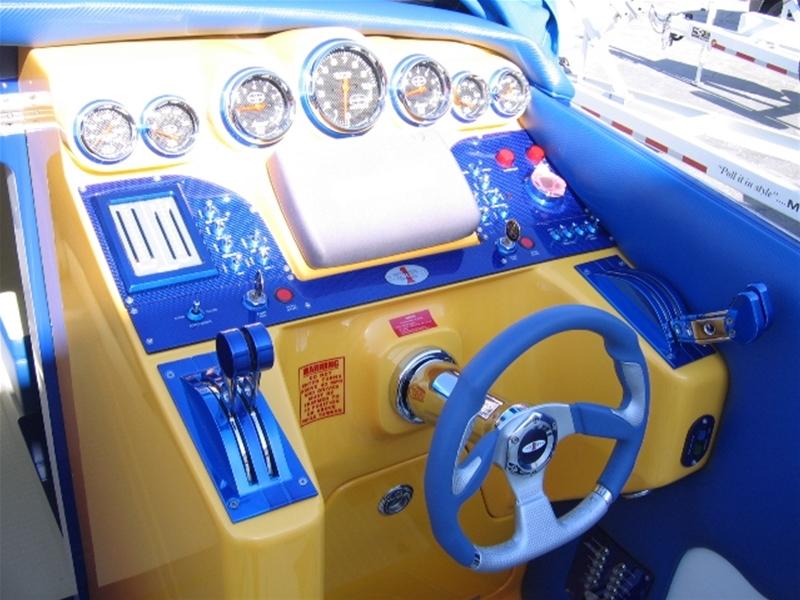 Bullet Boat Dash Panel