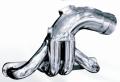 "CMI SMALL BLOCK DIRECT REPLACEMENT HEADERS - POLISHED 1 1/2"" PRIMARY - 13157"