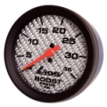LIVORSI 2 1/16 MECH BOOST GAUGE 0-35 PSI MEGA RACE GAUGE