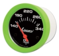 LIVORSI 2 1/16 PLUG IN OIL TEMP 140-340F MEGA RACE GAUGE