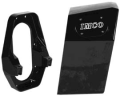 "IMCO EXTENSION BOX KIT 13.5° TRANSOM ANGLE X 12.000"" STRAIGHT BACK, BLACK"