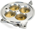 F.A.S.T. (Fuel Air Spark Technology) Polished 4 Barrel 4500 Billet Throttle Body; Includes TPS, IAC - 307604P