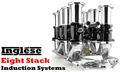 Inglese™ Eight Stack System w/ EZ-EFI 2.0®; Small Block Ford 351W - NG4010E