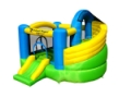 JUMP A LOT CURVED DOUBLE SIDE BOUNCE HOUSE