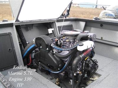 Kodiak Small Block Chevy Jet Boat Manifolds & Risers - KM3502A