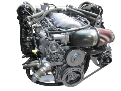 Chevrolet 6 2L V8 (LS3) Fresh-Water Cooled Kodiak Marine Engine - 410HP