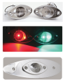 LED NAVIGATION LIGHT STAINLESS STEEL- STARBOARD