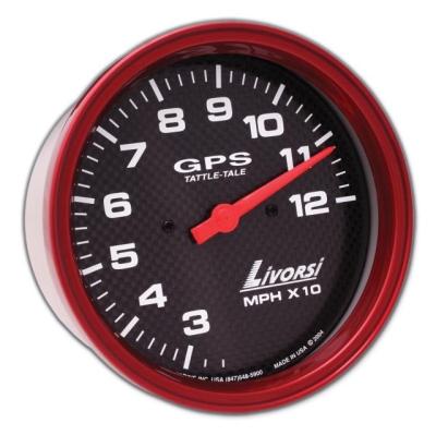 "LIVORSI Electric Automotive Water Temperature Gauge Platinum 2 5//8/"""