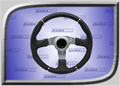 Rage Concept Series Steering Wheel - Evo Black - RGE-210