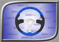 Rage Series 2 Steering Wheel - Blue - RGE-251