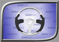 Rage Series 2 Steering Wheel - Platinum - RGE-250