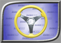 Rage Series 3 Steering Wheel - Yellow - RGE-305Y