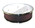 "SINGLE BILLET FLAME ARRESTOR, 4150, 10"" X 3"" - REE144150P"