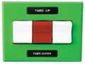 LIVORSI WIRED TRIM SWITCH PANEL 2 TABS WITH OVERRIDE - TP2