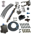 ZEIGER SINGLE BRAVO DRIVE, SINGLE RAM FULL HYDRAULIC MARINE HYDRAULIC STEERING KIT