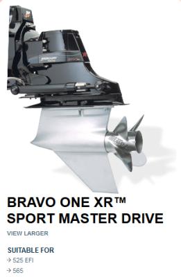 eaf104da5cc554 MERCURY BRAVO I XR SPORTMASTER DRIVE 1:50 or 1:35 RATIO