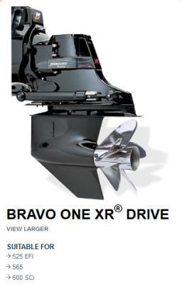 MERCURY BRAVO I XR DRIVE 1:50 or 1:35 RATIO