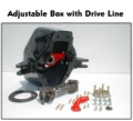 ADJUSTABLE BOX WITH DRIVE LINE