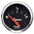 LIVORSI 2 5/8 PLUG IN FUEL LEVEL 0-90 OHMS MEGA RACE GAUGE OVERSIZE