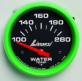 LIVORSI 2 1/16 PLUG IN WATER TEMP 100-280F MEGA RACE GAUGE